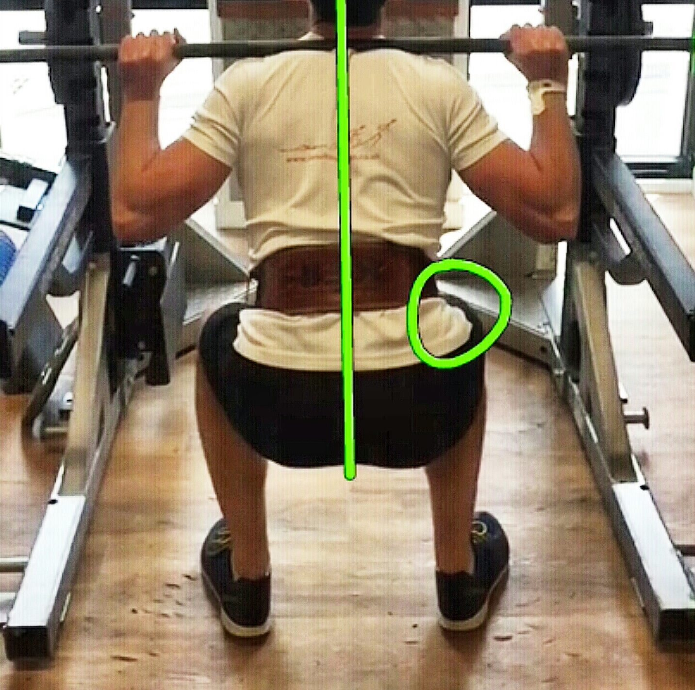 Get a full analysis of your squat